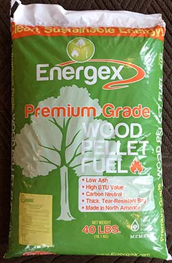 Energex Premium Grade Wood Pellets Southern Maine